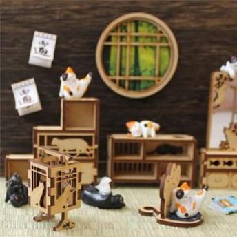 ミニチュア もふもふ猫空間 にゃんテーブル
