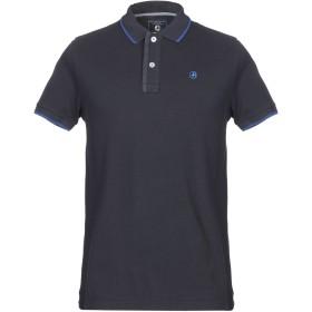《期間限定セール開催中!》IMPULSO メンズ ポロシャツ ダークブルー 52 コットン 100%