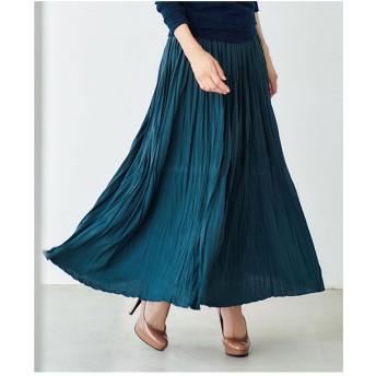 Ranan カットソーマキシスカート(ネイビー)【返品不可商品】