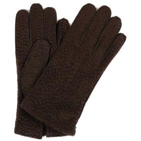 送料無料 GUANTI GIGILIO FIORENTINO カピバラ グローブ ダークブラウン メンズ 手袋 207 31 防寒アイテム