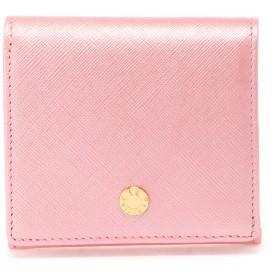 le prairies ル・プレリー Bijue(ビジュー) 二つ折り財布(小銭入れあり) NPL1280 コインケース/札入れ,ピンク