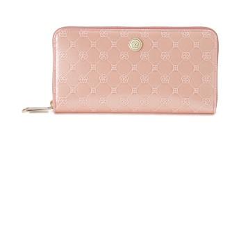 CLATHAS CLATHAS クレイサス フリージア ラウンドファスナー長財布 財布,ピンク