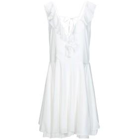 《期間限定セール開催中!》I-AM レディース ミニワンピース&ドレス ホワイト M レーヨン 100%