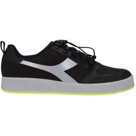 《期間限定 セール開催中》DIADORA メンズ スニーカー&テニスシューズ(ローカット) ブラック 6 紡績繊維