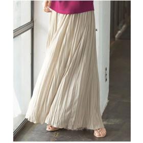Ranan カットソーマキシスカート(ライトグレー)