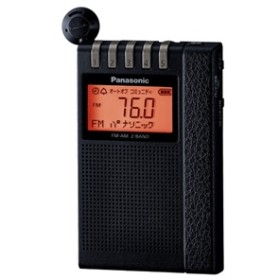 【パナソニック】 ラジオ RF-ND380R-K ポケットラジオ