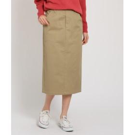 THE SHOP TK(Women)(ザ ショップ ティーケー(ウィメン)) チノ風タイトスカート