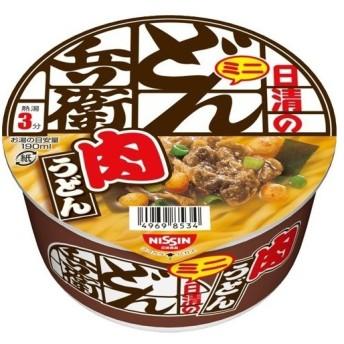 日清のどん兵衛 肉うどん ミニ ( 40g12食入 )/ 日清のどん兵衛