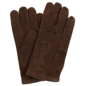 送料無料 GUANTI GIGILIO FIORENTINO スエード グローブ ダークブラウン メンズ 手袋 206 12 防寒アイテム