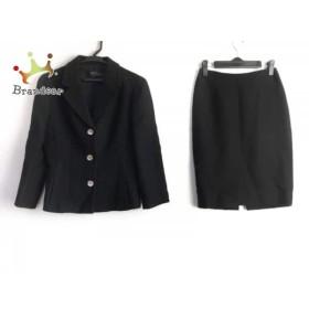 エポカ EPOCA スカートスーツ サイズ38 M レディース 黒     スペシャル特価 20190428
