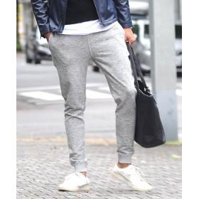 スペイド ジョガーパンツ ラインパンツ ライン サイドライン スラックス メンズ スキニー スリム スーツ生地 ジョガー メンズ スリム 韓国 ファッション イージーパン メンズ グレー Lサイズ 【SPADE】