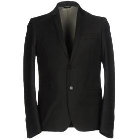 《期間限定セール開催中!》PATRIZIA PEPE メンズ テーラードジャケット ブラック 50 ポリエステル 53% / バージンウール 43% / ポリウレタン 4%