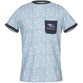 《期間限定 セール開催中》IMPULSO メンズ T シャツ アジュールブルー 50 100% コットン