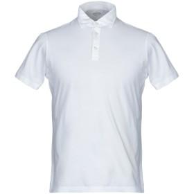 《期間限定 セール開催中》ALESSANDRO GHERARDI メンズ ポロシャツ ホワイト M コットン 100%