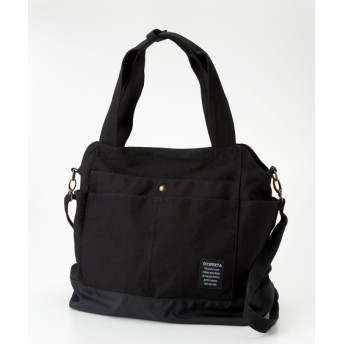帆布2WAYトートバッグ(A4対応) トートバッグ・手提げバッグ, Bags, 鞄
