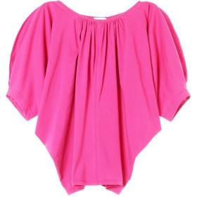 NINE ドライコットンプルオーバー Tシャツ・カットソー,ピンク