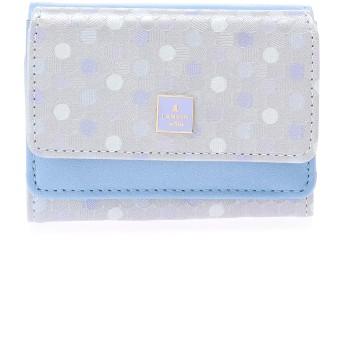 LANVIN en Bleu(BAG) LANVIN en Bleu ランバンオンブルー レポワン 三つ折り財布 財布,ライトブルー