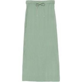 NINE プリーツタイトスカート