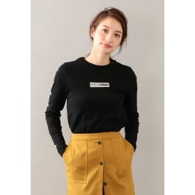 LOVELESS 【GUILD PRIME】スリーブスターロゴロンT Tシャツ・カットソー,ブラック