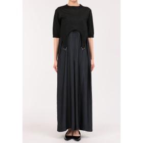 muller of yoshiokubo ムーンサロペットドレス ワンピース,ダークネイビー