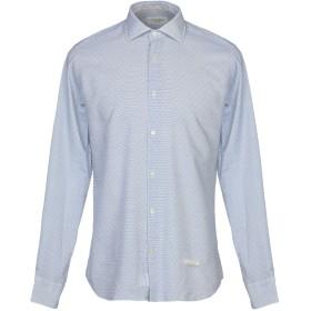 《期間限定セール開催中!》TINTORIA MATTEI 954 メンズ シャツ ホワイト 41 コットン 100%