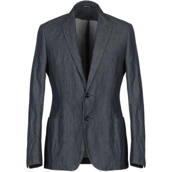 《期間限定セール開催中!》TONELLO メンズ テーラードジャケット ブルー 48 コットン 99% / 真鍮/ブラス 1%