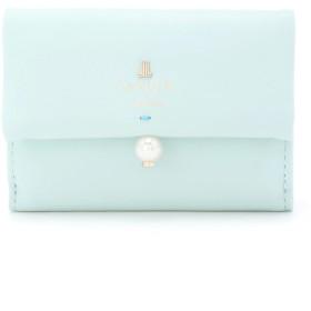 LANVIN en Bleu(BAG) シャペル 三つ折り財布 財布,ミント