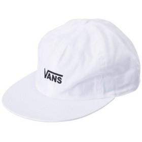 【VANSウェア】Flying-V Emb. Low Cap ヴァンズ キャップ VA18FW-MA03 WHITE