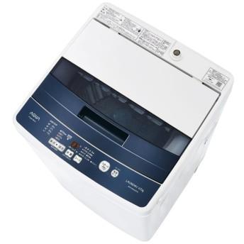 AQW-BK45G-FB 全自動洗濯機 フロストブルー [洗濯4.5kg /乾燥機能無]