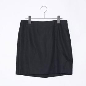 アドーア ADORE リネンツイルスカート (ブラック)