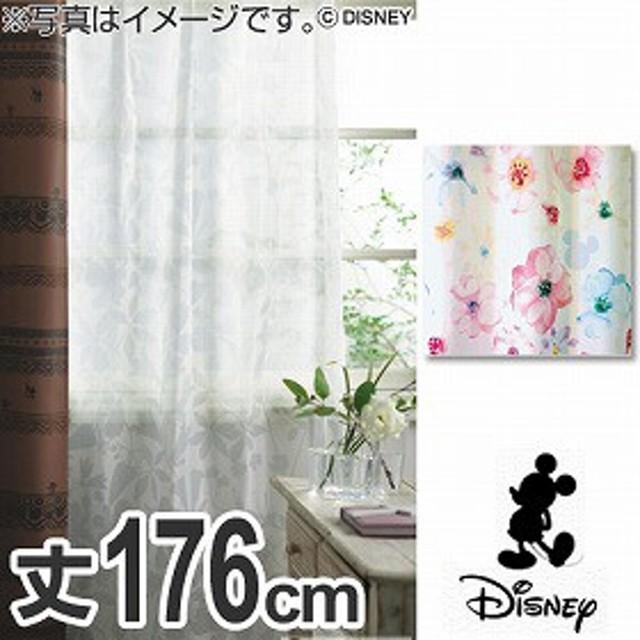【最大1000円OFFクーポン配布中】 ボイルカーテン Disney ディズニー ミッキー アロマ 100×176cm