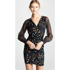 ダイアンフォンファステンバーグ ドレス 長袖 レディース【Diane von Furstenberg Betti Dress】Eclipse Dot
