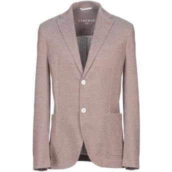 《セール開催中》CIRCOLO 1901 メンズ テーラードジャケット ブラウン 48 コットン 100%