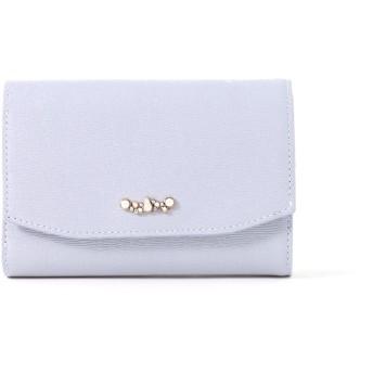 LANVIN en Bleu(BAG) LANVIN en Bleu ランバンオンブルー ヘレネ 二つ折り財布 財布,ブルー