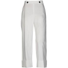 《セール開催中》INCOTEX レディース パンツ ホワイト 42 コットン 97% / ポリウレタン 3%