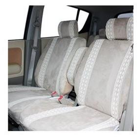 錦産業 HY-587 ハニー シートカバー ベージュ 軽自動車フリーサイズ