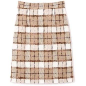 PROPORTION BODY DRESSING / プロポーションボディドレッシング  ループタータンチェックタイトスカート