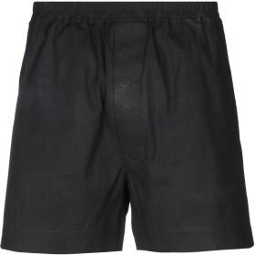 《セール開催中》DRKSHDW by RICK OWENS メンズ ショートパンツ ブラック S コットン 97% / ポリウレタン 3%