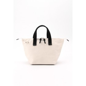 CaBas CaBas N°33 Bowlerbag small + Shoulder strap ハンドバッグ,ホワイト/ブラック