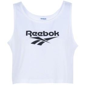 《セール開催中》REEBOK レディース トップス ホワイト M ポリエステル 65% / コットン 35% LF TANK
