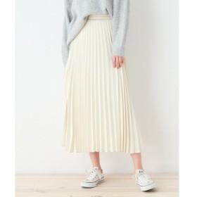 OZOC / オゾック サテンプリーツスカート