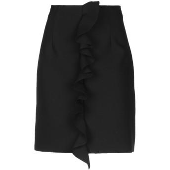 《9/20まで! 限定セール開催中》MSGM レディース ひざ丈スカート ブラック 38 ポリエステル 84% / レーヨン 10% / ポリウレタン 6%