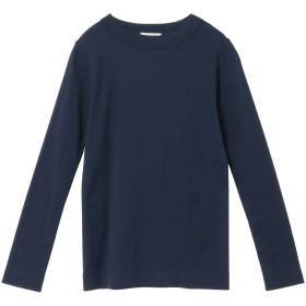 a mong gout シュクレフライスモックネック Tシャツ・カットソー,ネイビー