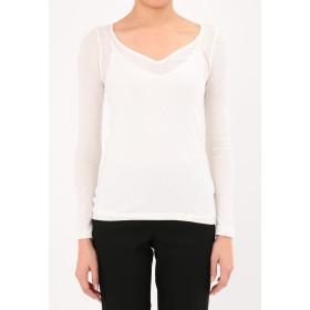 THEATRE PRODUCTS リヨセルコットンテレコ Tシャツ・カットソー,ホワイト