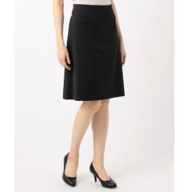 L size ONWARD(大きいサイズ) / エルサイズオンワード 【洗える/セットアップ対応】ウォッシャブルウールストレッチ スカート