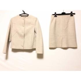 チヴィディーニ CIVIDINI スカートスーツ サイズ40 M レディース ベージュ【中古】