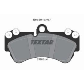 取寄 2369202 2369202 ブレーキパッド Textar 1セット(4枚入) 品番:11233459