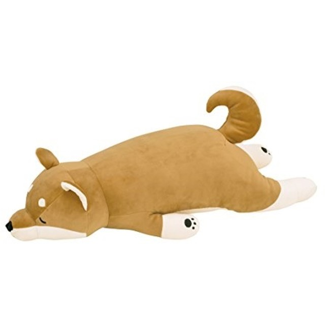 りぶはあと 抱きまくらL 柴犬のコタロウ 73x32x18cm プレミアムねむねむアニマルズ 48768-44