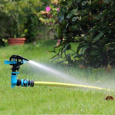 【單旋轉噴頭+接頭一套-KN229-1套】4分單通插地式園藝園林草坪農用自動灑水器-5170855