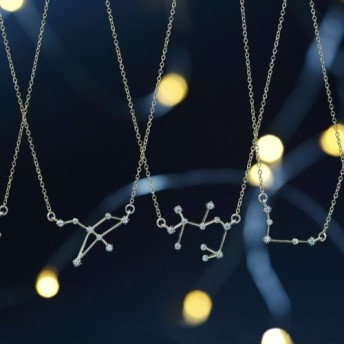 【14KGF】 Star Sign Necklace